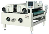 Full precision twin roll coater